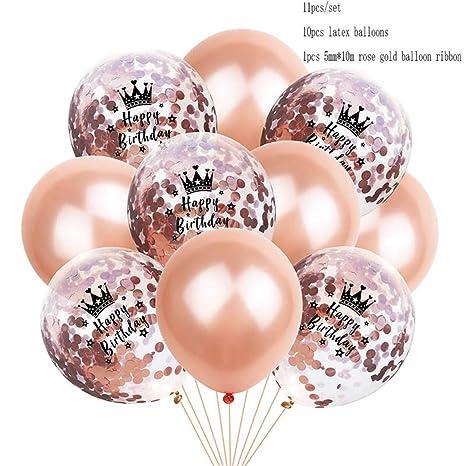 Amazon.com: Globos inflables de látex para fiesta de ...