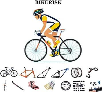 Bicicleta y accesorios de bicicleta, juego de ruedas de cuadro, manillar, horquilla delantera, tubo de asiento, tornillos de pedal y otras herramientas de reparación adecuadas para vástagos, frenos: Amazon.es: Deportes y aire