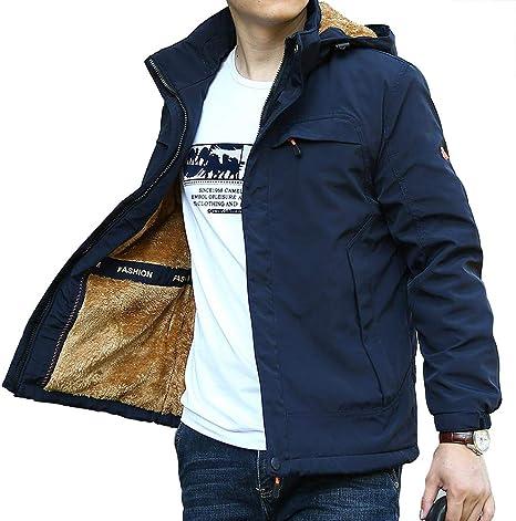 Softshell Jacket Outdoor Hombre Vellón Chaqueta Invierno ...