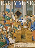 img - for Early music : Josquin des Prez Misericordias Domini & Louis XI; Texting in 15th Century French Chansons; Textual Symmetries in Musikalische Exequien by Henrich Schutz; A paid of songs by John Dowland; Metronome Marks & Tempo in Beethoven Symphoniesn book / textbook / text book