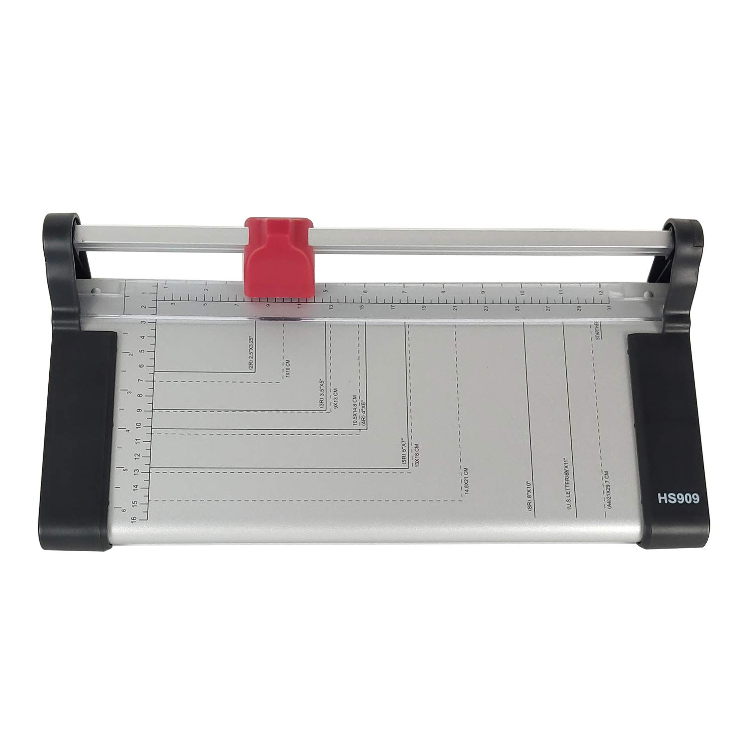Rayson HS909A4 Paper Cutter Trimmer 12 Inch Length Cutter 8 Sheets Capacity Cutting Straight Lines by RAYSON