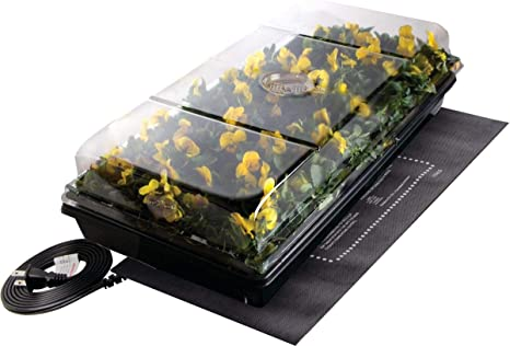 """Jump Start Germination Station w/Heat Mat Tray with 2"""" Dome"""