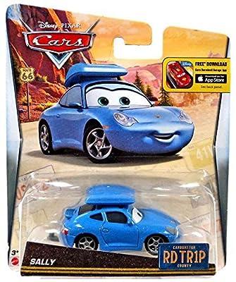 Disney/Pixar Cars, Carburetor County Road Trip, Sally Die-Cast Vehicle by Disney