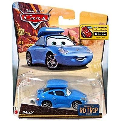 Disney/Pixar Cars, Carburetor County Road Trip, Sally Die-Cast Vehicle: Toys & Games