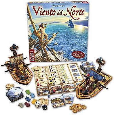 Devir - Viento del Norte (BGVINO): Amazon.es: Juguetes y juegos
