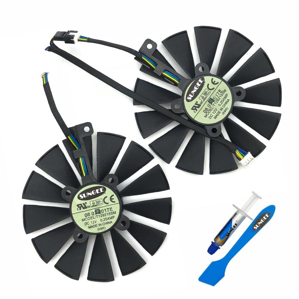 Cooler Fan Para Asus Rog Strix Gtx 1050 1050ti Rx470 Rx570 R