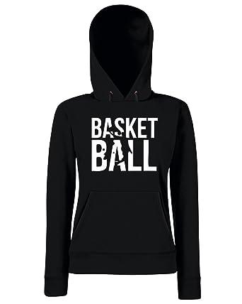 T-Shirtshock - Sudadera hoodie para las mujeras SP0020 Basket Ball Maglietta, Talla L: Amazon.es: Ropa y accesorios