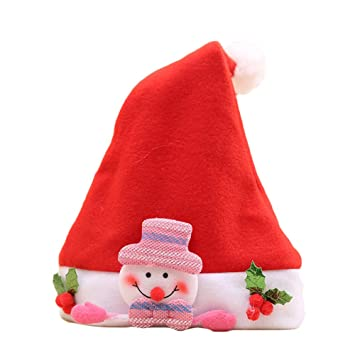 Christmas Party Headwear Hat Headband Festive Santa Snowman Elf Reindeer Xmas Party Cap Gift Children Kid Baby Home & Garden