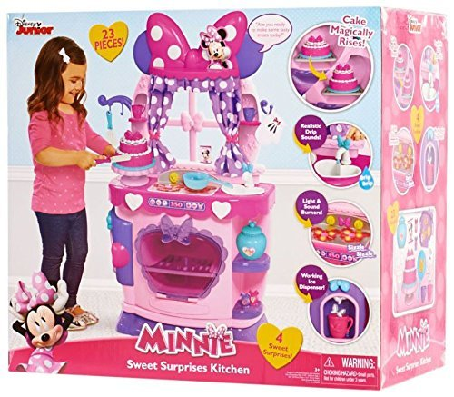 Disney Minnie Bow Tique Sweet Surprises Kitchen