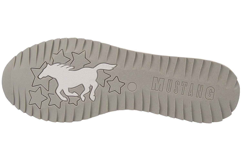Mustang1237-401-21 - Mocasines Mujer, Color Plateado, Talla 43: Amazon.es: Zapatos y complementos