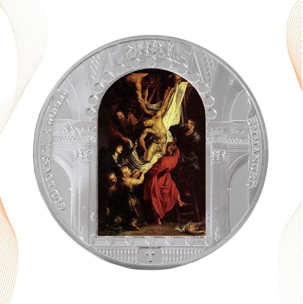 Vosarea Jesus-M/ünze Jesus-Herausforderungsm/ünze Gedenkm/ünzen-Andenken-Geschenkart 001