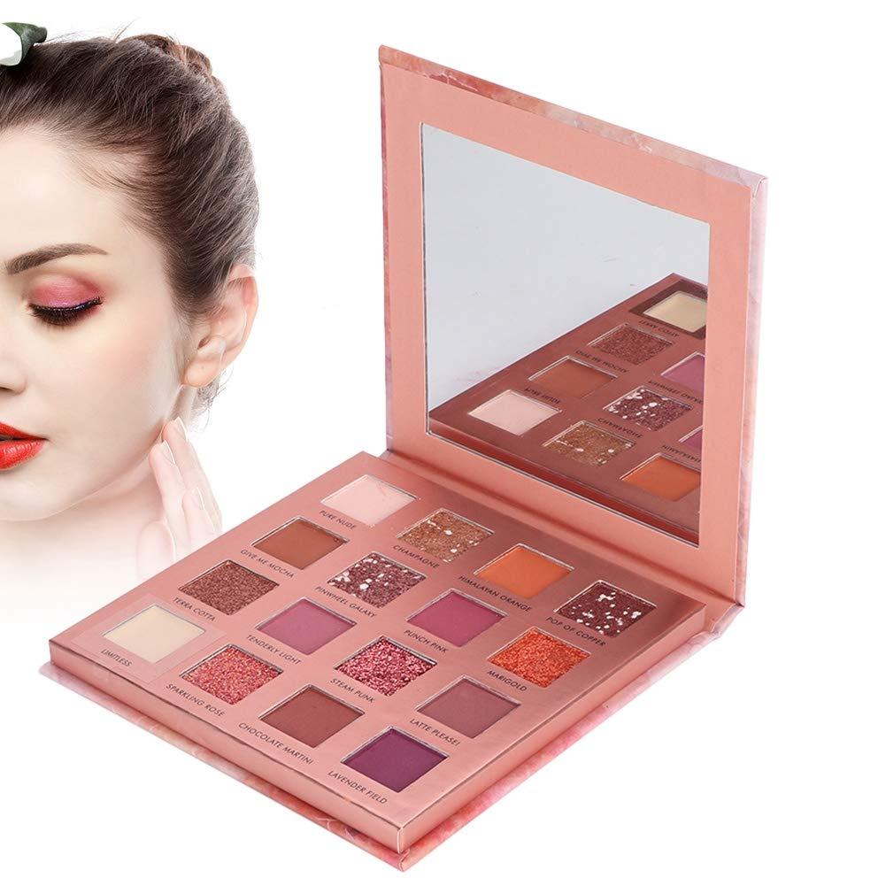 Professional 6 Colors Makeup Kit Eyeshadow Palette, Makeup Eyeshadow Palette Matte Shimmer Glitter Eye Shadow Pallet High Pigmented Makeup Pallet