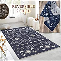 Maxy Home Dejavu Reversible Indoor/Outdoor 5 ft. 3 in. x 7 ft. 6 in. Area Rug