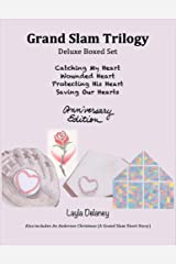 Grand Slam Trilogy: Anniversary Edition: Catching My Heart, Wounded Heart, Protecting His Heart, Saving Our Hearts Kindle Edition