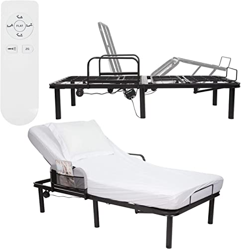 Vive Electric Bed Rail Frame