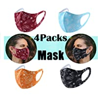 【Fast Delivery Deal!!!】6PCS Reusable ??ace ??ask, ??ace Covering Washable Face Bandannas within Breathable Sponge Unisex…