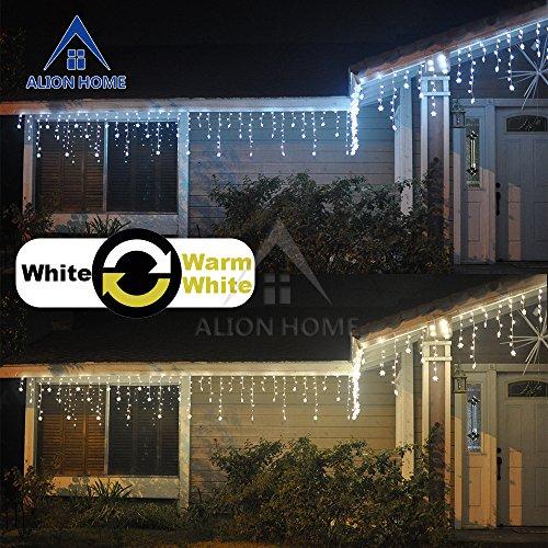 led christmas icicle lights. Black Bedroom Furniture Sets. Home Design Ideas