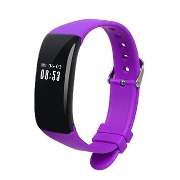 """Bracelet montre connectée Jeemak 0.66"""" OLED Suivi de Fréquence Cardiaque Podomètre Suivi dactivité"""