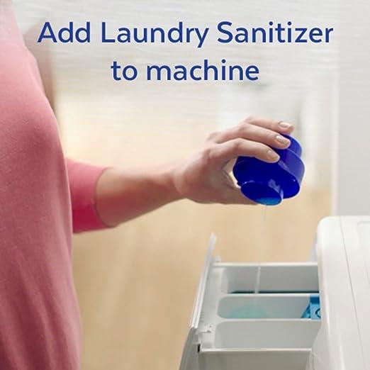 Lysol Laundry Sanitizer Additive, Crisp Linen, 2X90oz