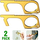 Antitouch Door Opener - No Contact Keychain Tool Keychain No touch Metal Door Opener To Open Doors Without Touching 2…