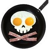 leading-star PERS?NLICHKEIT Lustige Side Up Sch?del Silikon Egg Art Mould Halloween Fr¨¹hst¨¹ck Formrahmen