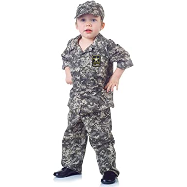 2f76d761d44 Amazon.com  U.S. Army Camo Set Toddler Costume - Large  Clothing