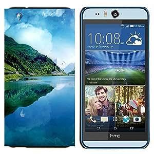 EJOOY---Cubierta de la caja de protección para la piel dura ** HTC Desire Eye M910x ** --Sueño Pier