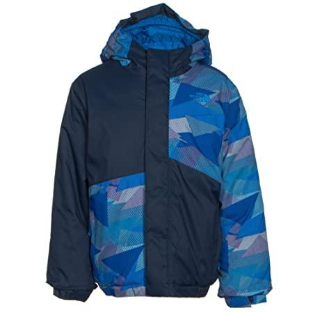 d8c61ec79006 The North Face Calisto Insulated Toddler Ski Jacket - 3 Jake Blue Geo Camo