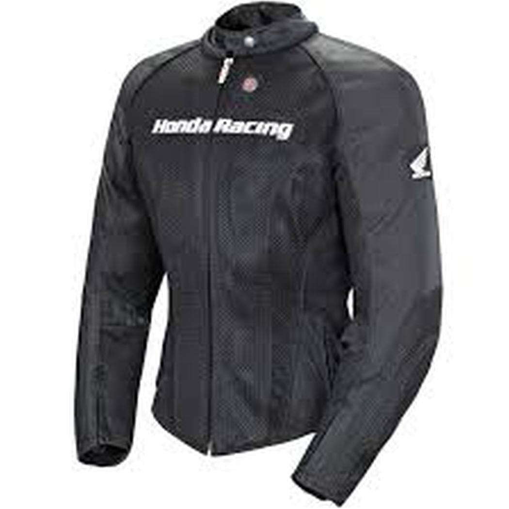 Joe Rocket Honda Speedmesh Women's Textile On-Road Racing Motorcycle Jacket - Black/Black / X-Large
