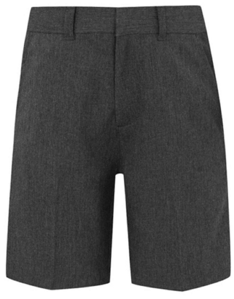 Ex UK Store Boys School Shorts Adjustable Waist 3-11Y