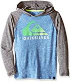 Image of Quiksilver Boys' Heat Wave Hoody, Star Sapphire Heather, Large