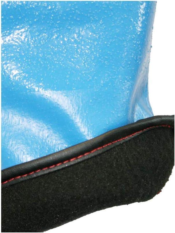 Gant protection Chimique Chaleur Froid SINGER Bleu Taille 9 Nitrile Doublure polaire 30cm