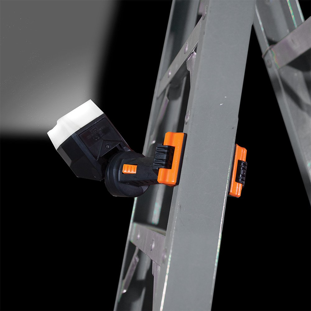 Work Light, LED Clamp Light Rotates 360 Degrees, Pivots 90 Degrees, Dust and Water Resistant Klein Tools 56029 by Klein Tools (Image #4)