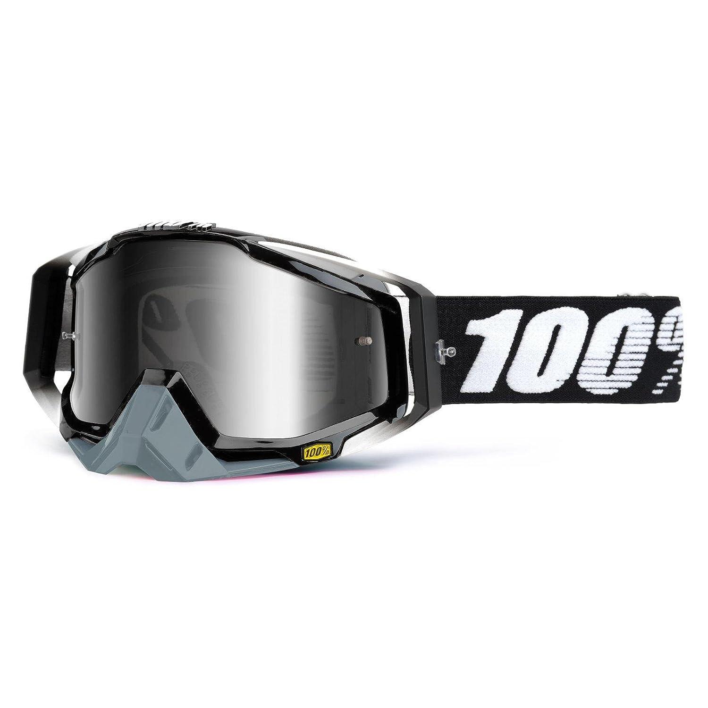 100% RACECRAFT EXTRA Crossbrille - Abyss schwarz Größe UNI