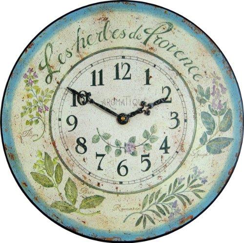 Amazon Com Roger Lascelles Herb Design French Wall Clock