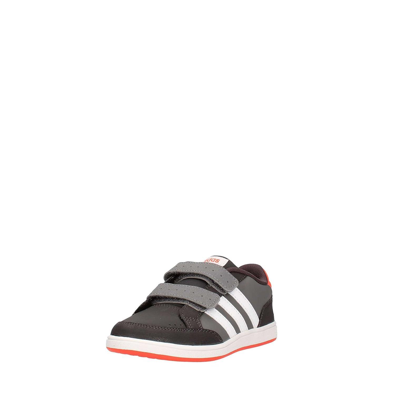 Adidas NEO Hoops Cmf C Sneakers Grigio Scarpe Bambino AQ1656
