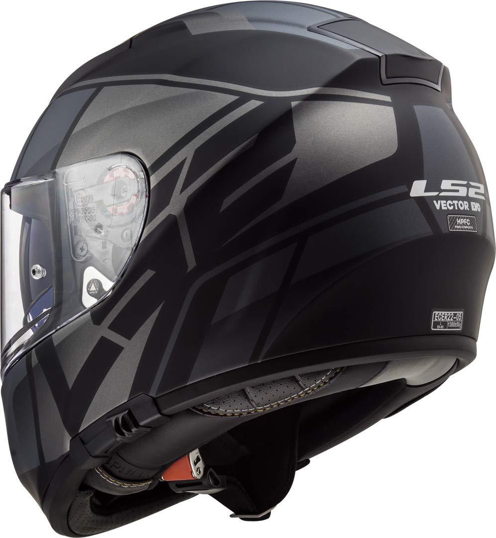 LS2 FF397 Vector HPFC EVO Kripton Casco de Motocicleta