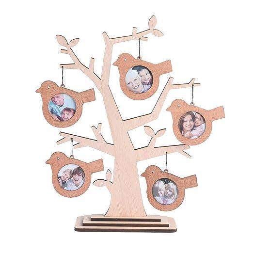 11 opinioni per Giftgarden Cornici per Foto a Forma di Albero con 5 Uccelli Cornici Legno