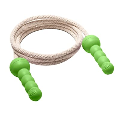 Green Toys Jump Rope - BPA Free, Phthalates Free, Green Handle Skipping Rope for Better Health, Increased Concentration. Fitness Equipment: Health & Personal Care