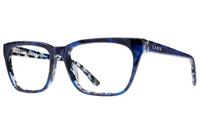 c089c380c3 L.A.M.B. By Gwen Stefani LA013 Women s Eyeglass Frames - Navy at Amazon  Women s Clothing store