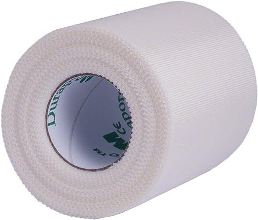 3 M Durapore quirúrgico cinta, hipoalergénico, color blanco, 5 cm x 9,1 m, pack de 1: Amazon.es: Salud y cuidado personal