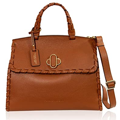 21eeb6bf0af9c VISONÀ Plinio Italienischer Designer - Cognac - Maroon - Leather -  Portemonnaie mit Umhängetasche