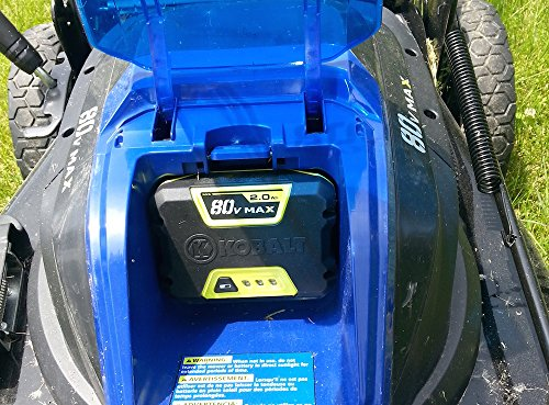 Kobalt 80-Volt Lithium Ion (Li-ion) Cordless Power Equipment Battery