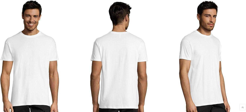 Pack 25-50 o 100 Camisetas Blancas 100% Algodon Unisex: Amazon.es ...