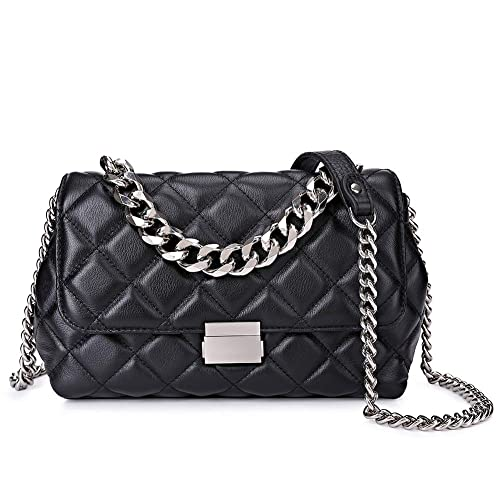 a1390338cc4 Quilted Leather Crossbody Bags For Women Designer Shoulder Handbags ...