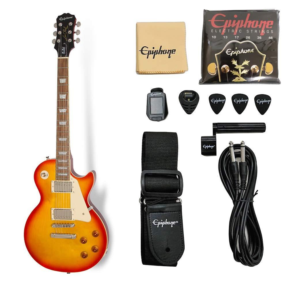 Epiphone Les Paul Standard Lite/Heritage Cherry Sunburst エレキギター レスポールスタンダード エピフォン   B07P5S83LL