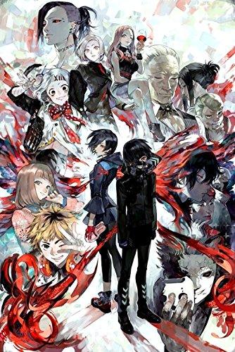 Tomorrow sunny Tokyo Ghoul Poster Season 2 root A Kaneki Riz