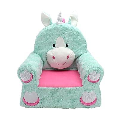 Animal Adventure Sweet Seats Plush Chair - Unicorn: Kitchen & Dining