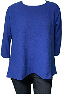 product image for Margaret Winters Spring Swing Tee Sweater - Sizes XL - 2X Great for Oval Shapes!