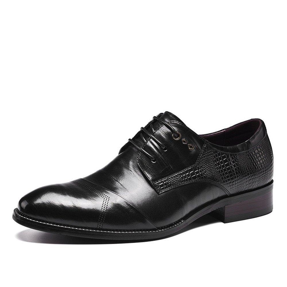 Männer - mode lederschuhe, männer handgefertigte schuhe, business casual schuhen, casual - mode, schuhe,schwarz,42